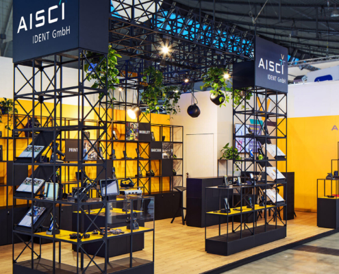 AISCI Ident GmbH - Messekonzept