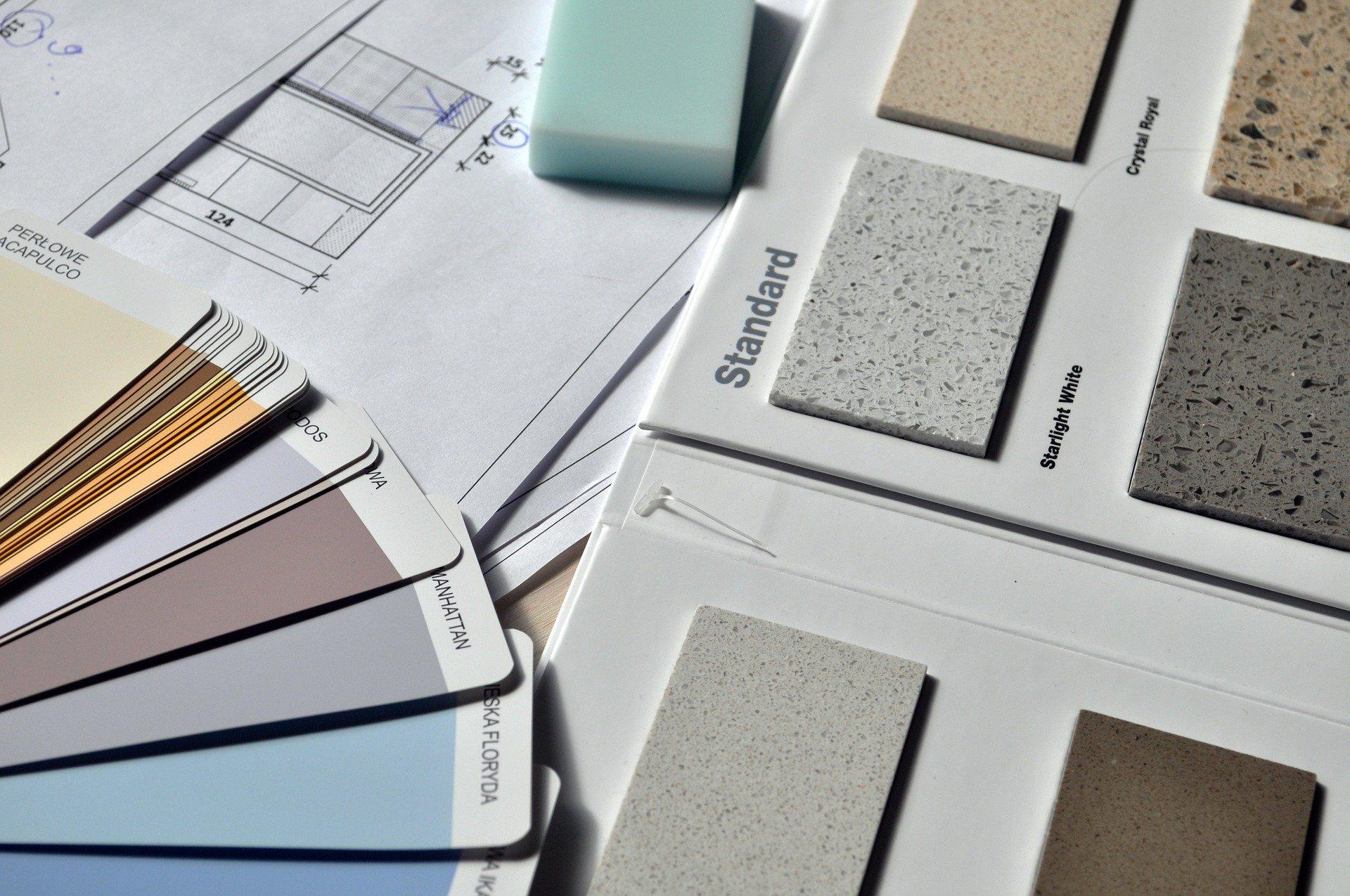 Der kreative Umgang mit den Gestaltungselementen Material, Farbe und Licht