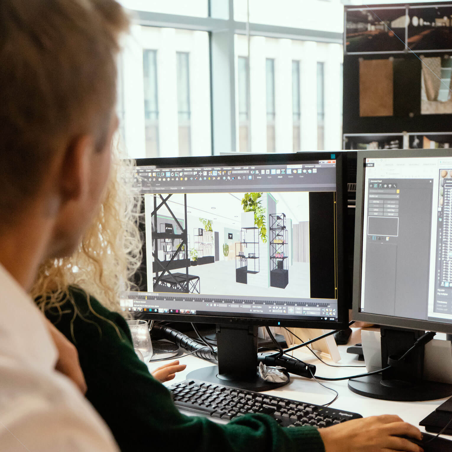 Wir binden unsere Kunden in den Entwurfsprozess ein